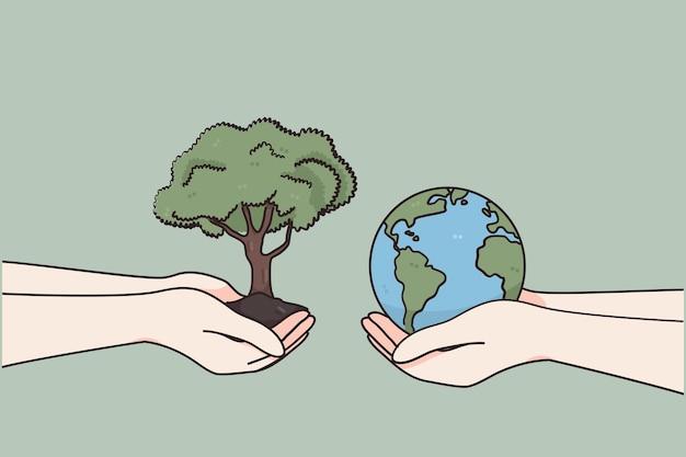 Dia internacional de caridade e conceito de doação