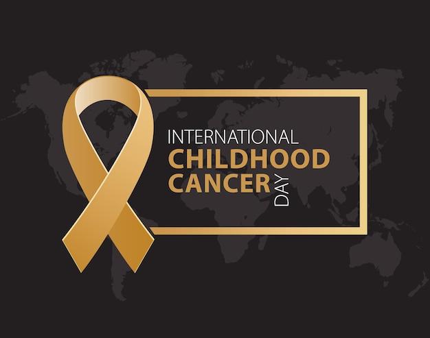 Dia internacional de conscientização do câncer infantil