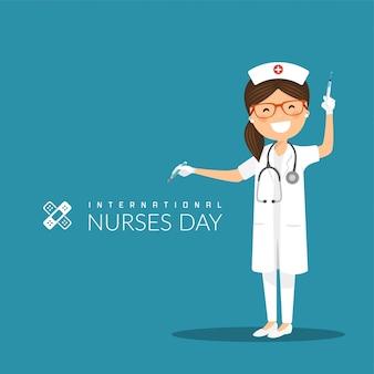 Dia internacional de enfermagem