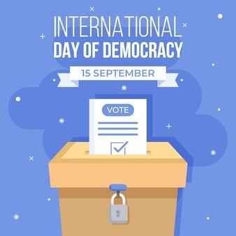 Dia internacional do conceito de democracia