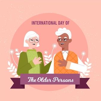 Dia internacional do conceito de idosos