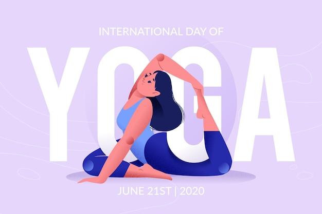 Dia internacional do conceito de ioga