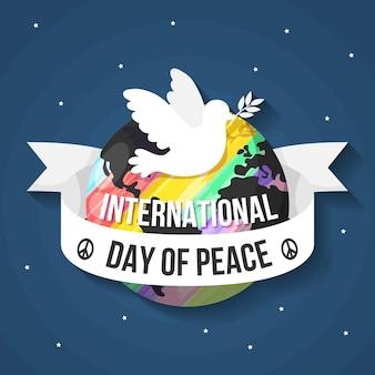 Dia internacional do evento de paz