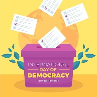 Dia internacional do evento democrático