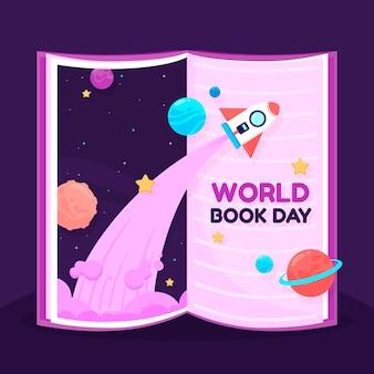 Dia internacional do livro alcançando o impossível