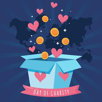 Dia internacional do projeto de caridade