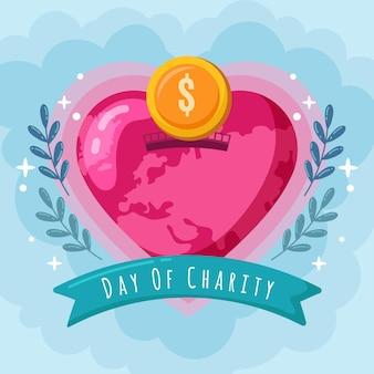 Dia internacional do tema da caridade