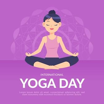 Dia internacional do tema da ioga