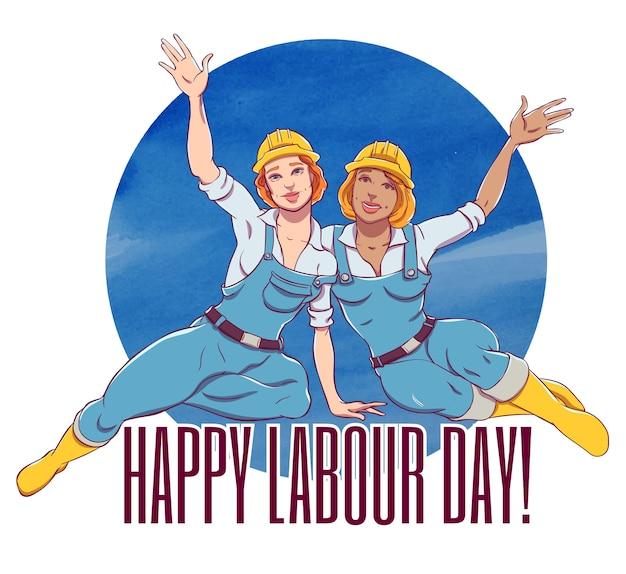 Dia internacional do trabalho. primeiro de maio
