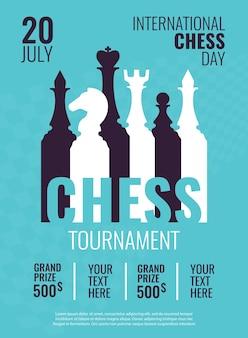 Dia internacional do xadrez.