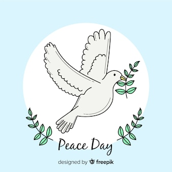 Dia lindo de fundo de paz