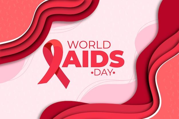 Dia mundial da aids em estilo jornal