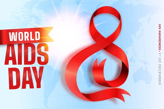 Dia mundial da aids realista