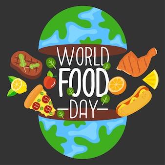 Dia mundial da alimentação.