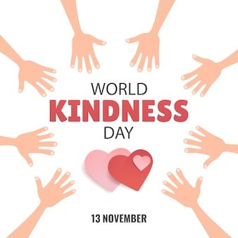 Dia mundial da bondade.