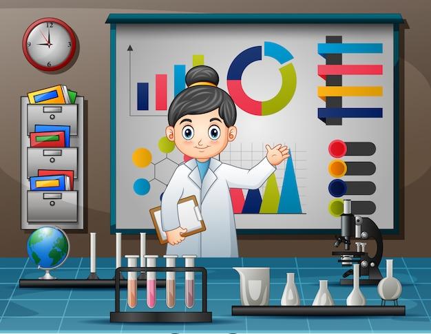 Dia mundial da ciência com mulheres cientista