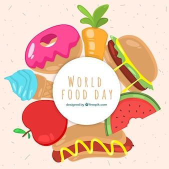 Dia mundial da comida b ackground