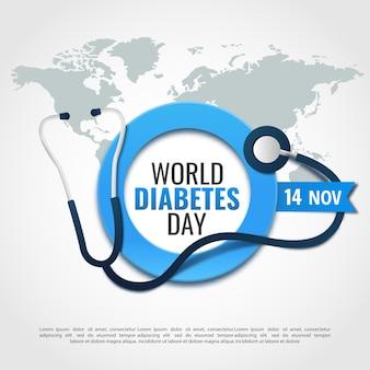 Dia mundial da diabetes.