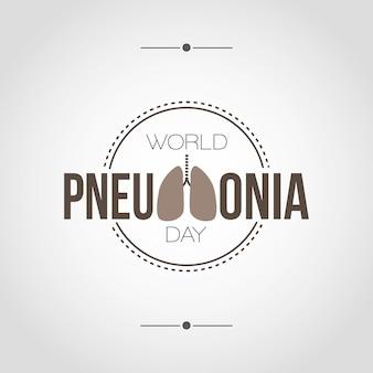 Dia mundial da pneumonia