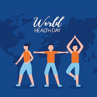 Dia mundial da saúde das pessoas