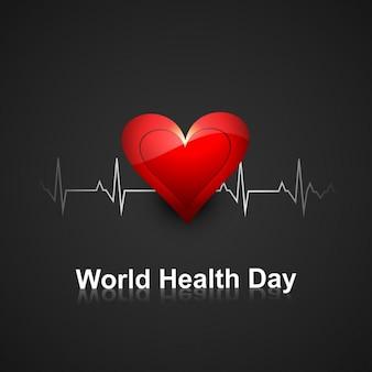 Dia mundial da saúde de fundo