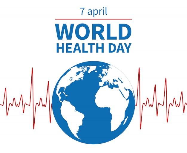 Dia mundial da saúde fundo