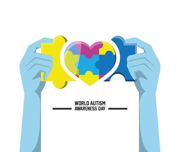 Dia mundial do autismo awarness