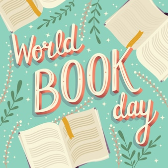 Dia mundial do livro, letras de mão
