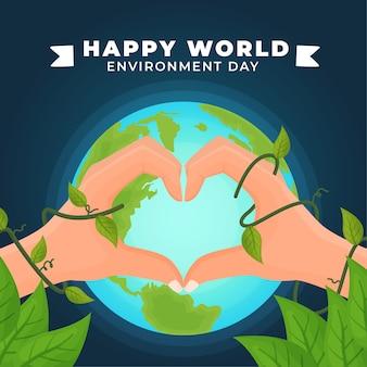 Dia mundial do meio ambiente e coração