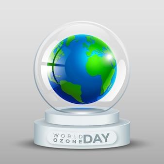 Dia mundial do ozônio na bola de cristal