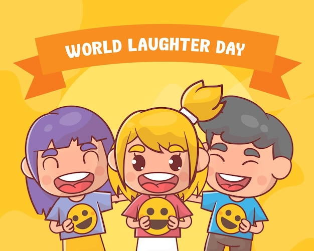 Dia mundial do riso Vetor Premium