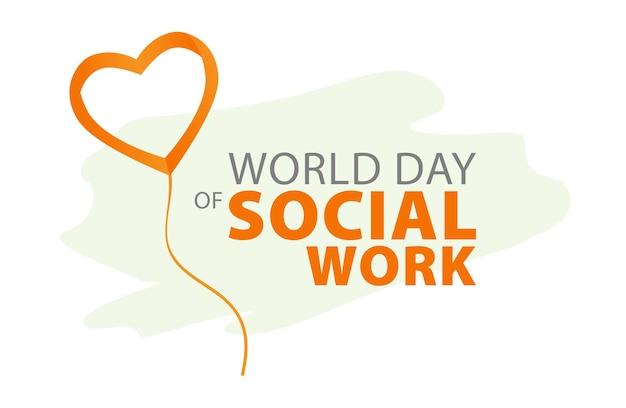 Dia mundial do trabalho social