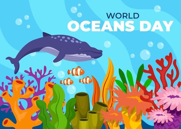 Dia mundial dos oceanos 8 de junho