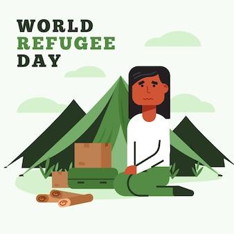 Dia mundial dos refugiados mundo