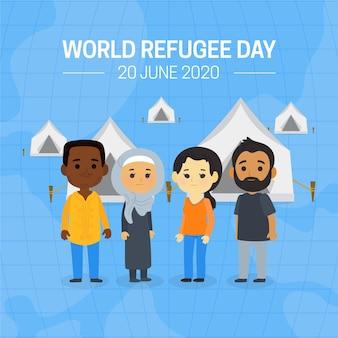 Dia mundial dos refugiados