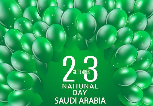 Dia nacional da arábia saudita 23 de setembro. dia da independência do reino da arábia saudita
