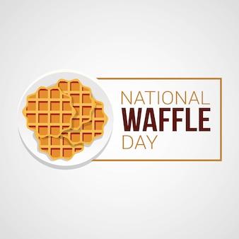 Dia nacional da waffle