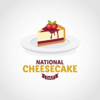 Dia nacional de cheesecake