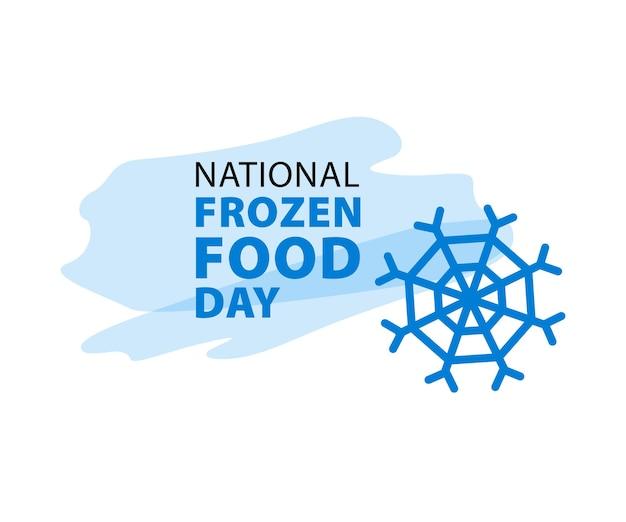 Dia nacional dos alimentos congelados