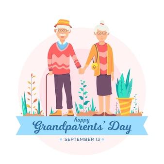 Dia nacional dos avós com os avós