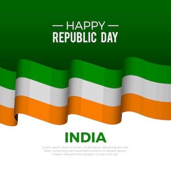 Dia realista da república indiana