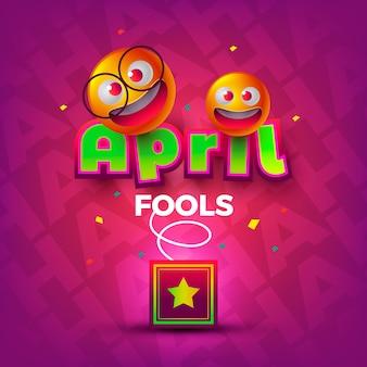 Dia realista de tolos de abril