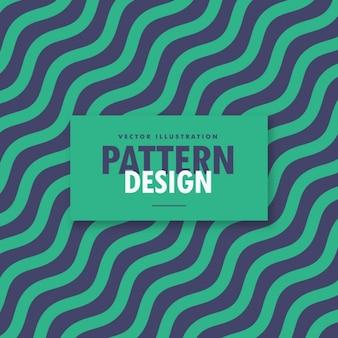 Diagonal fundo ondulado linhas de estilo vintage
