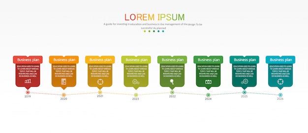Diagrama negócios e educação infográfico modelo