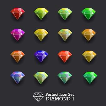 Diamondsetvector