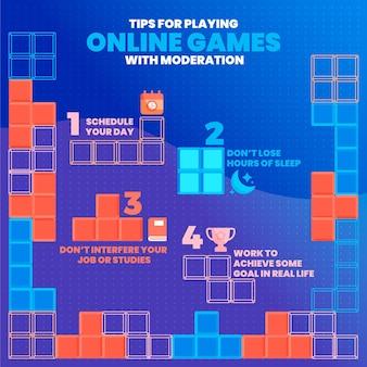 Dicas para jogar jogos online com moderação