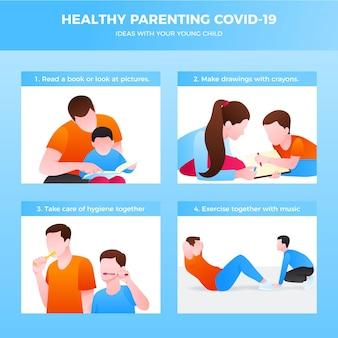 Dicas saudáveis para os pais