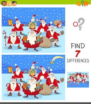 Diferenças Jogo Educativo com Papai Noel