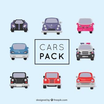 Diferentes tipos de carros vector