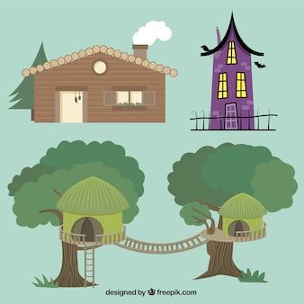 Diferentes tipos de casas